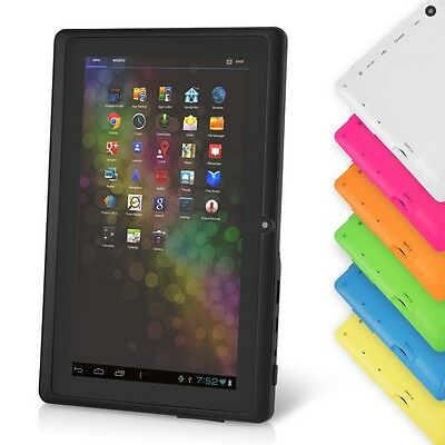"7"" Google Android Tablet PC w/ Dual Core 8GB Camera WiFi HDMI Multi-Touch - Vuru"