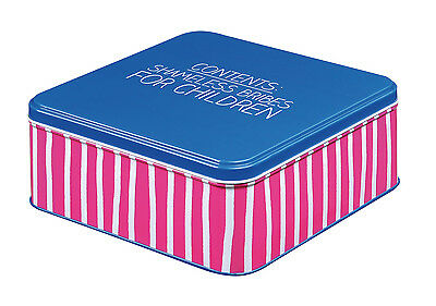 Happy Jackson Bribes for Children Large Square Tin