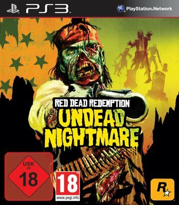 Sony PS3 Playstation 3 Spiel * Red Dead Redemption Undead Nightmare *****NEU*NEW