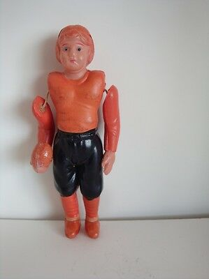 VINTAGE CELLULOID 1940s FOOTBALL PLAYER
