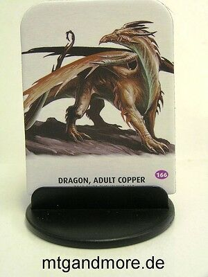 Pathfinder Battles Pawns / Tokens - #166  Dragon, Adult Copper - Bestiary Box 1