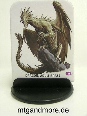 Pathfinder Battles Pawns / Tokens - #165  Dragon, Adult Brass - Bestiary Box 1