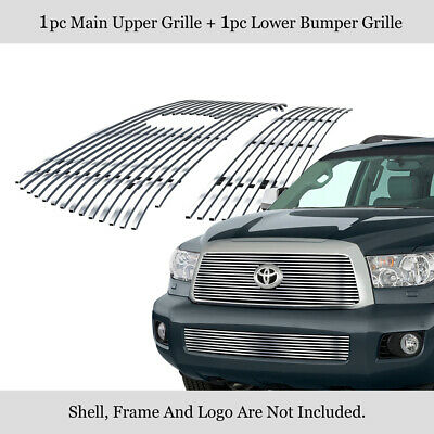 For 2008-2013 Toyota Sequoia Billet Grille Grill Combo Insert