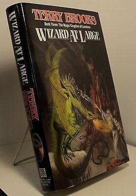 Wizard at Large by Terry Brooks - First edition