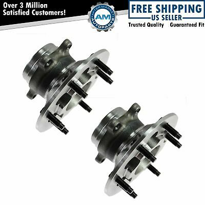 Hub Bearing for 2000 Chevrolet Silverado 1500 RWD//FWD Only-6 STUD FrontPair