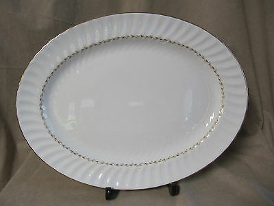"Royal Doulton Adrian Oval Platter 16""  In Excellent Condition"