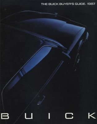 1987 Buick Sales Brochure - Riviera Regal Grand National LeSabre Electra Century