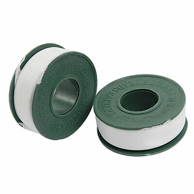 2 Rolls 16mm Width PTFE Thread Seal Tape for Plumbing