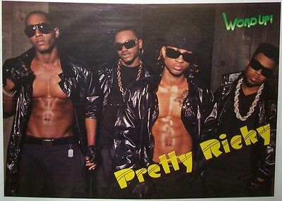 """PRETTY RICKY - PLEASURE P - BOW WOW - 22"""" x 16"""" POSTER - DOUBLE SIDED - 2008"""