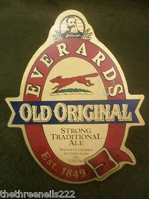Beer Pump Clip (With Fitting) - Everards Old Original