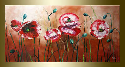 Yuhong Blooming Flowers hand painted Floral oil painting bestbid_mall E813