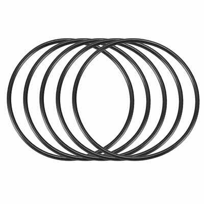 5 Pcs 100mm x 3.5mm Mechanical Rubber O Ring Oil Seal Gaskets