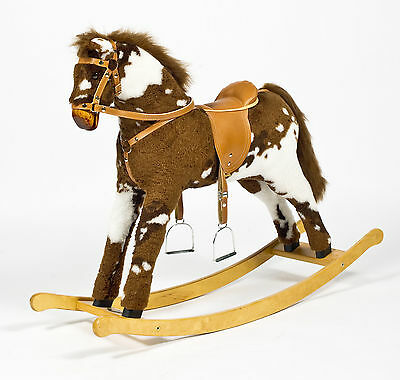 "Handmade Brand New Rocking Horse ""Titan III"" from MJMARK MADE IN EUROPE"