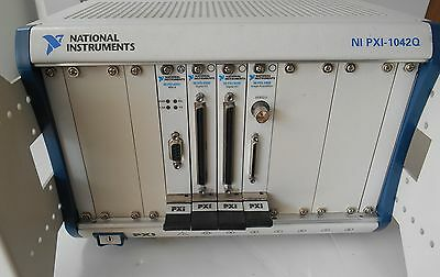 National Instruments PXI-1042Q Mainframe w/PXI-8331,2 X  PXI-6508, PXI-1409