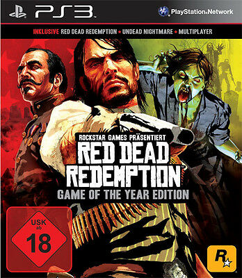 Sony PS3 Playstation 3 Spiel * Red Dead Redemption Game of the Year Edition *NEU