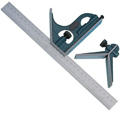 New Combination Square With Level And Scriber 305Mm 12 Inch Carpenters