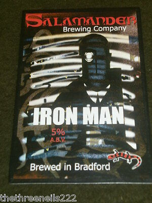 Beer Pump Clip - Salamander Iron Man