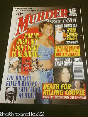 Murder Most Foul #60 - Murder County Usa