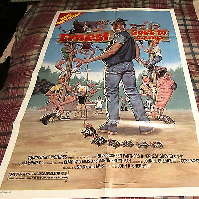 Ernest Goes To Camp - Movie One Sheet ------ K @@ L