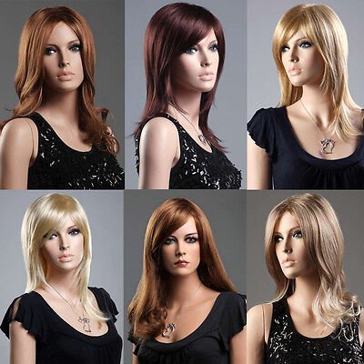 Ladies Long Wig Blonde Red Black Brown Full Wigs  Forever Young Fashion Wigs UK