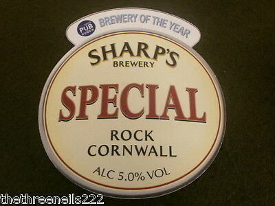 Beer Pump Clip - Sharp's Special