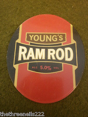 Beer Pump Clip - Young's Ram Rod