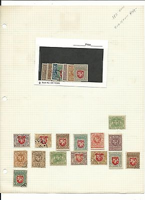 Lithuania Accumulation on Album Pages, Nice Variety