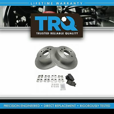 Nakamoto Rear Posi Ceramic Brake Pad & Rotor Kit for ES350 Camry Hybrid Avalon