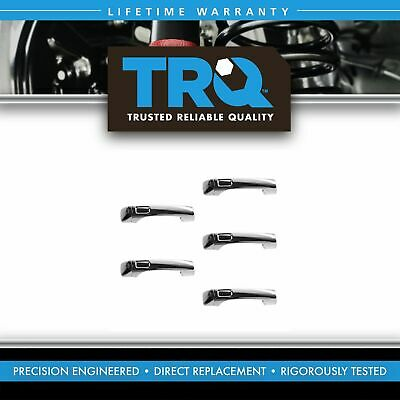 Exterior Outside Door Handle All Chrome SET of 5 for 06-10 Hummer H3 H3T