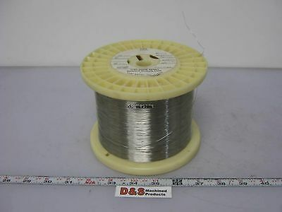 "New Fort Wayne Metals 304V Stainless Steel Wire 0.011"" Diameter Approx. 19,000'"