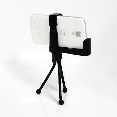 Mini Flexible Tripod Stand with Holder for Smart Phone Galaxy S4 S3 iPhone 4/4S