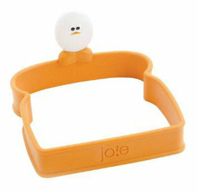 Toast Top Silicone Egg Shaper Ring - Joie Sandwich Eggy Egghead Eggs Toast Shape