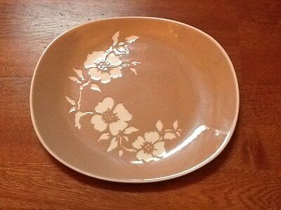 plate with dogwood flowers made by harkerware