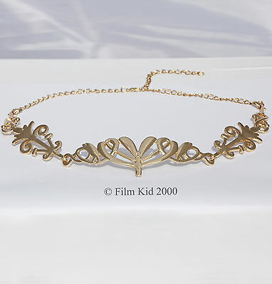 Arwen Evenstar Gold Crown Lotr Hobbit Lord Of The Rings Elven Elf Circlet Tiara