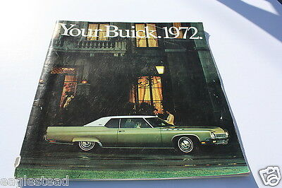 Auto Brochure - Buick - Product Line Model Overview - 1972 (AB205) - OS