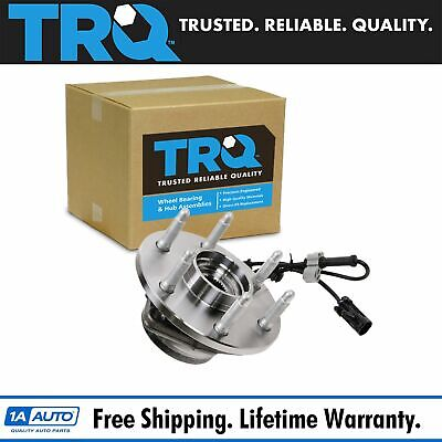 TRQ Front Wheel Hub & Bearing w/ ABS for Chevy GMC Pickup Truck 4X4 4WD AWD