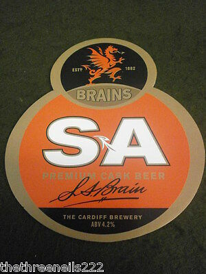 Beer Pump Clip - S A Brain The Cardiff Brewery