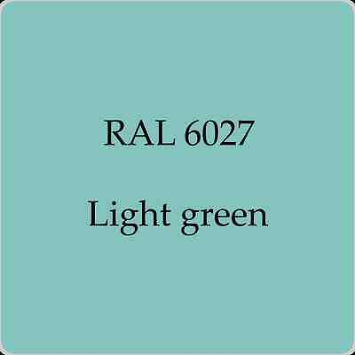 Ral 6027 High Quality German Paint   Light Green 2L With Free Strainer