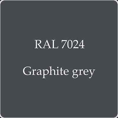 Ral 7024 High Quality German Paint   Graphite Grey 2L With Free Strainer