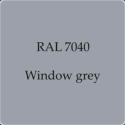 Ral 7040 High Quality German Paint   Window Grey 2L With Free Strainer
