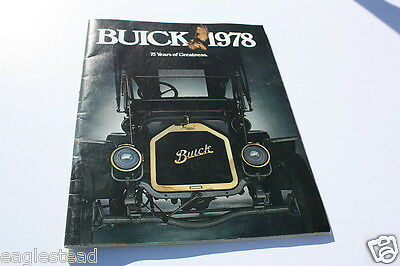 Auto Brochure - Buick - Product Line Model Overview - 1978 (AB208) - OS