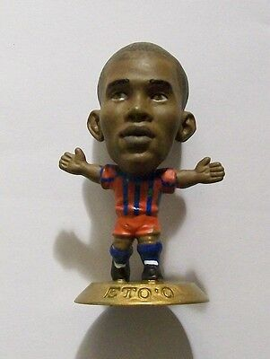 Microstars BARCELONA (HOME) ETO'O Germany S1 GOLD BASE MC4888