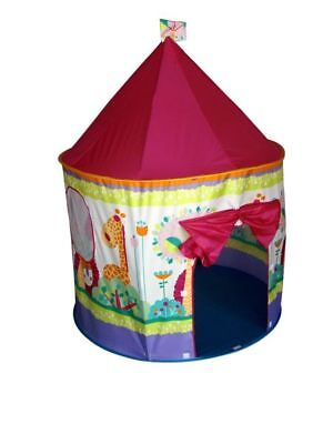 BN Pop Up Kids Castle Tent House Fun Fold Up Indoor Outdoor Fun Toy