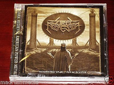 Steel Aggressor: Mourning Star Total Eclipse CD 2013 Stormspell USA SSR-DL99 NEW