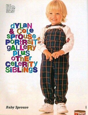 Dylan & Cole Sprouse - Baby Sprouse - Pinup - Poster - Blonde Teen Boy