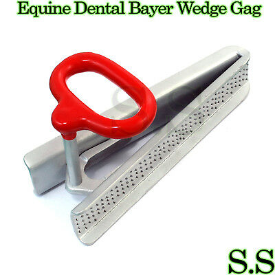 Equine Dental BAYER WEDGE GAG Horse Speculum Veterinary