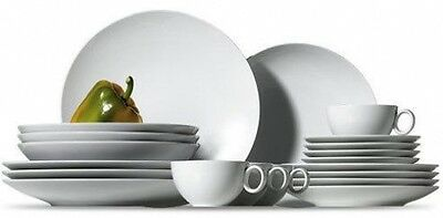 20 Piece Dinner & Tea Set Thomas Loft White - Bnib