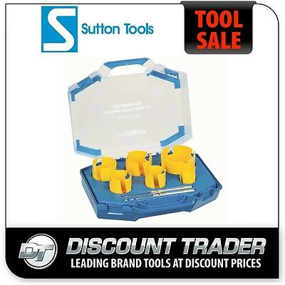 Sutton 8 Piece Down Light Multi-Purpose Hole Saw Kit TCT H111 - H111008DL