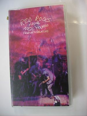 Neil Young - Red Rocks Live - Vhs Pal
