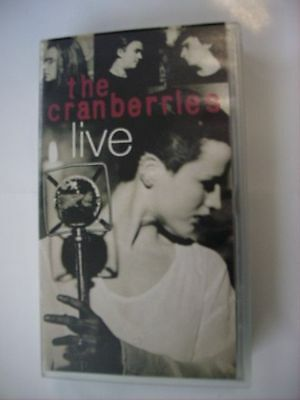 Cranberries - Live - Vhs Pal - Rare
